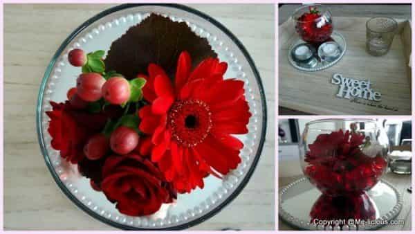 DIY Bloemstukje met flowergel