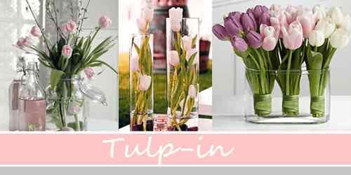 Tulpen als verlengstuk van je interieur