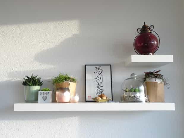 Lege plekjes in huis re-stylen