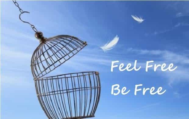 feel free be free