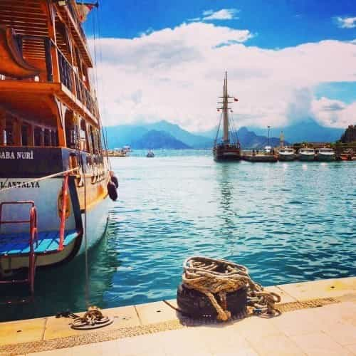 Cruiseschips haven Antalya