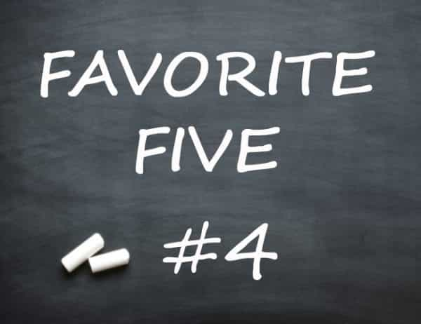 favorite-five #4