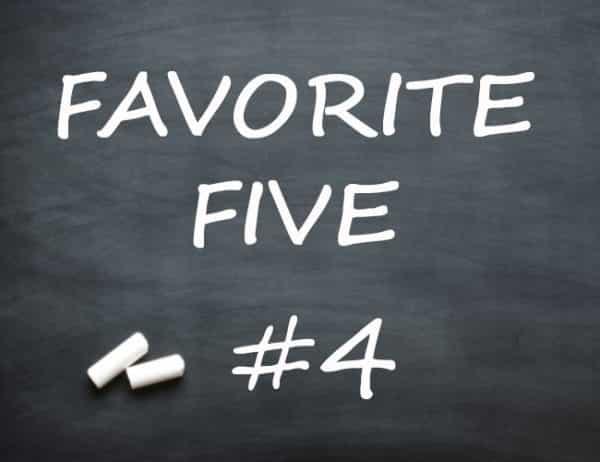 favorite-five #4