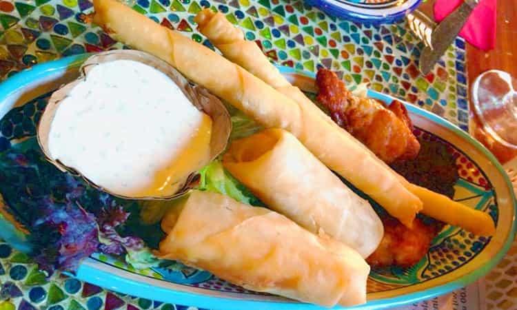 restaurant Bazaar-Abdhul's-voorgerecht
