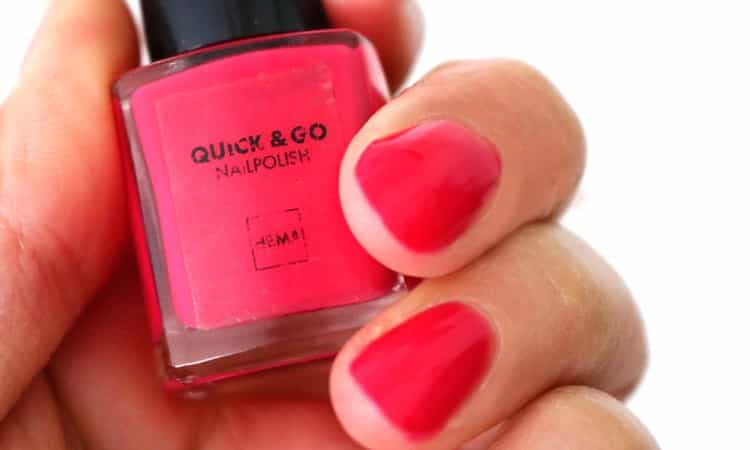 Hema quick and go nagellak