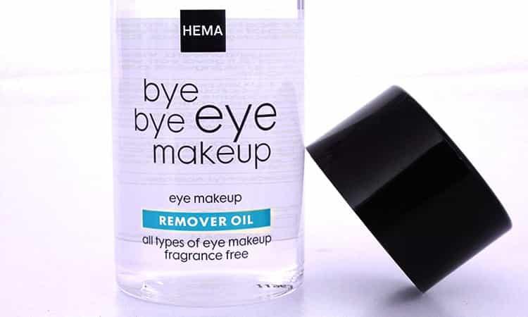 Hema bye bye eye makeup remover oil