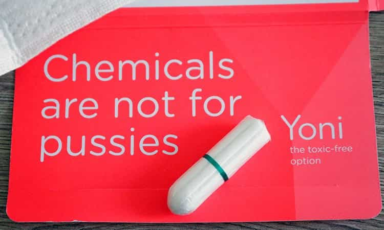 Yoni Tampons & maandverband zonder chemicaliën