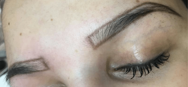 3D Hairstroke behandeling Wenkbrauwen