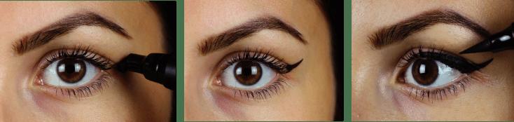 Wing it eyeliner stempel