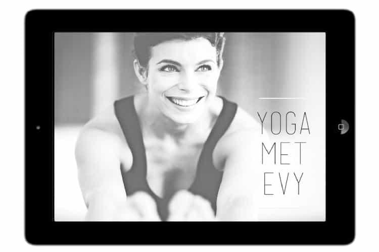 yoga met Evy app