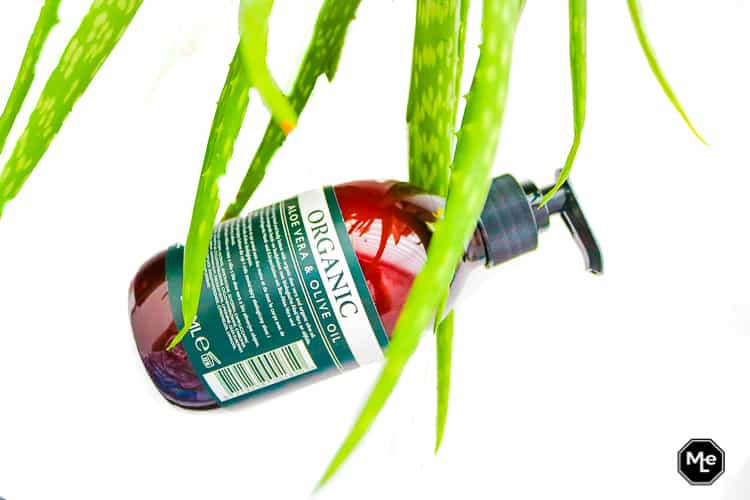 Apotek Organic Aloë vera en Olive Oil lijn