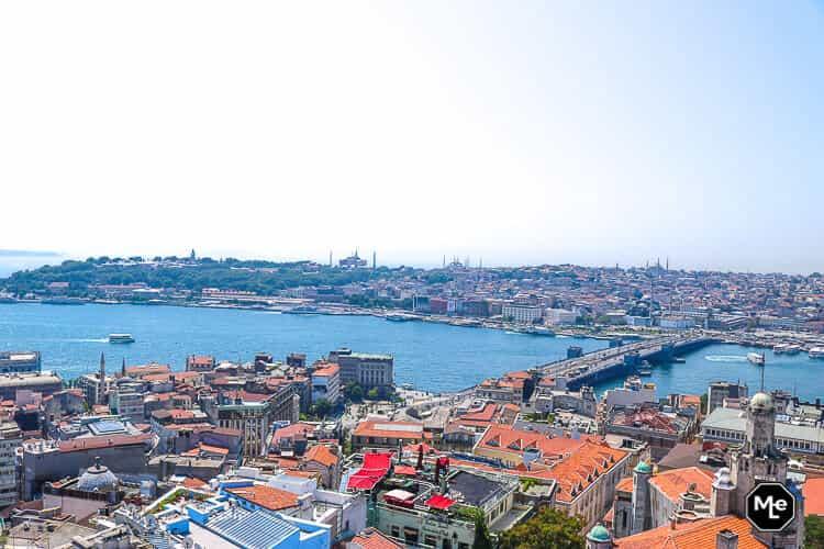 Bezienswaardigheden in Istanbul - Uitzicht galata toren