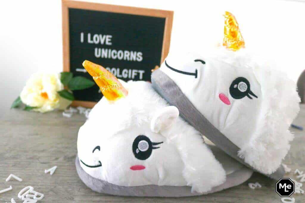 I love Unicorns - unicorn pantoffels