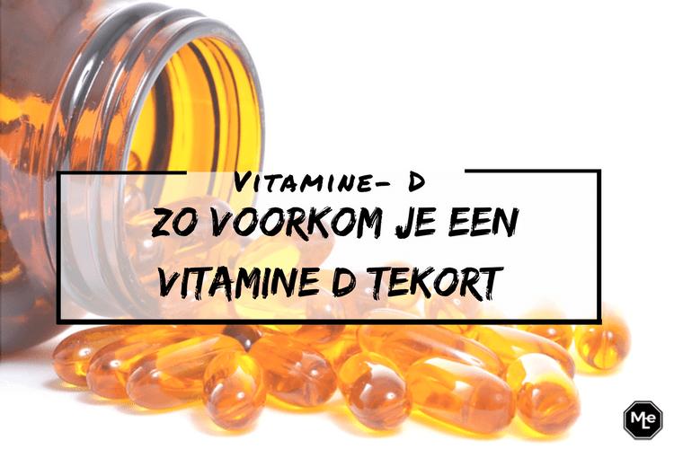 zo voorkom je een vitamine D tekort