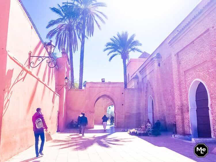 Marrakech travel report-Koutbia moskee