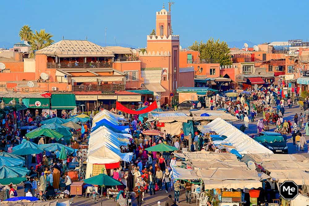 Marrakech travel report-djemma el fna day