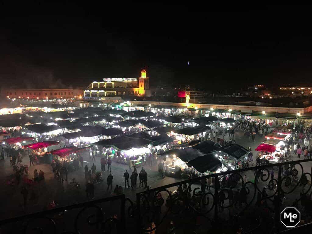 Marrakech travel report-djemma el fna night