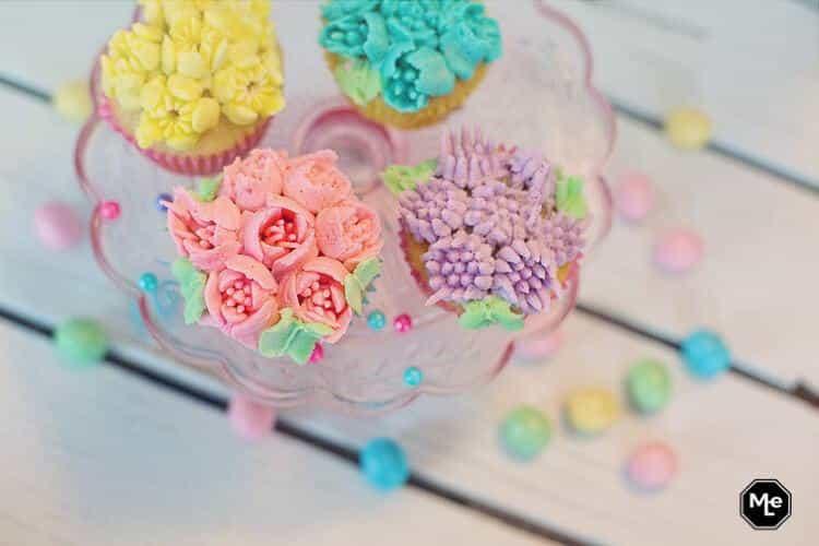 pastel cupcakes voor pasen