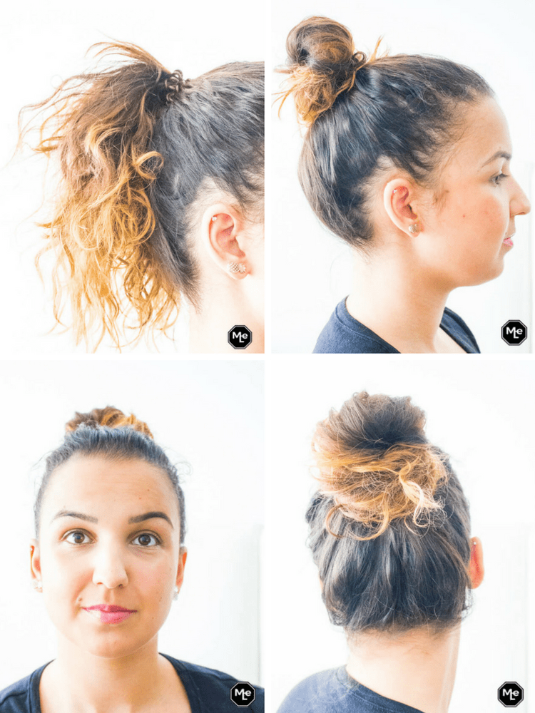 Invisibobble - hairdo knot