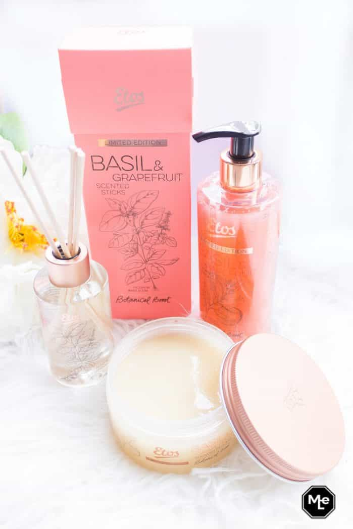 Etos Botanical Boost Basil en grapefruit