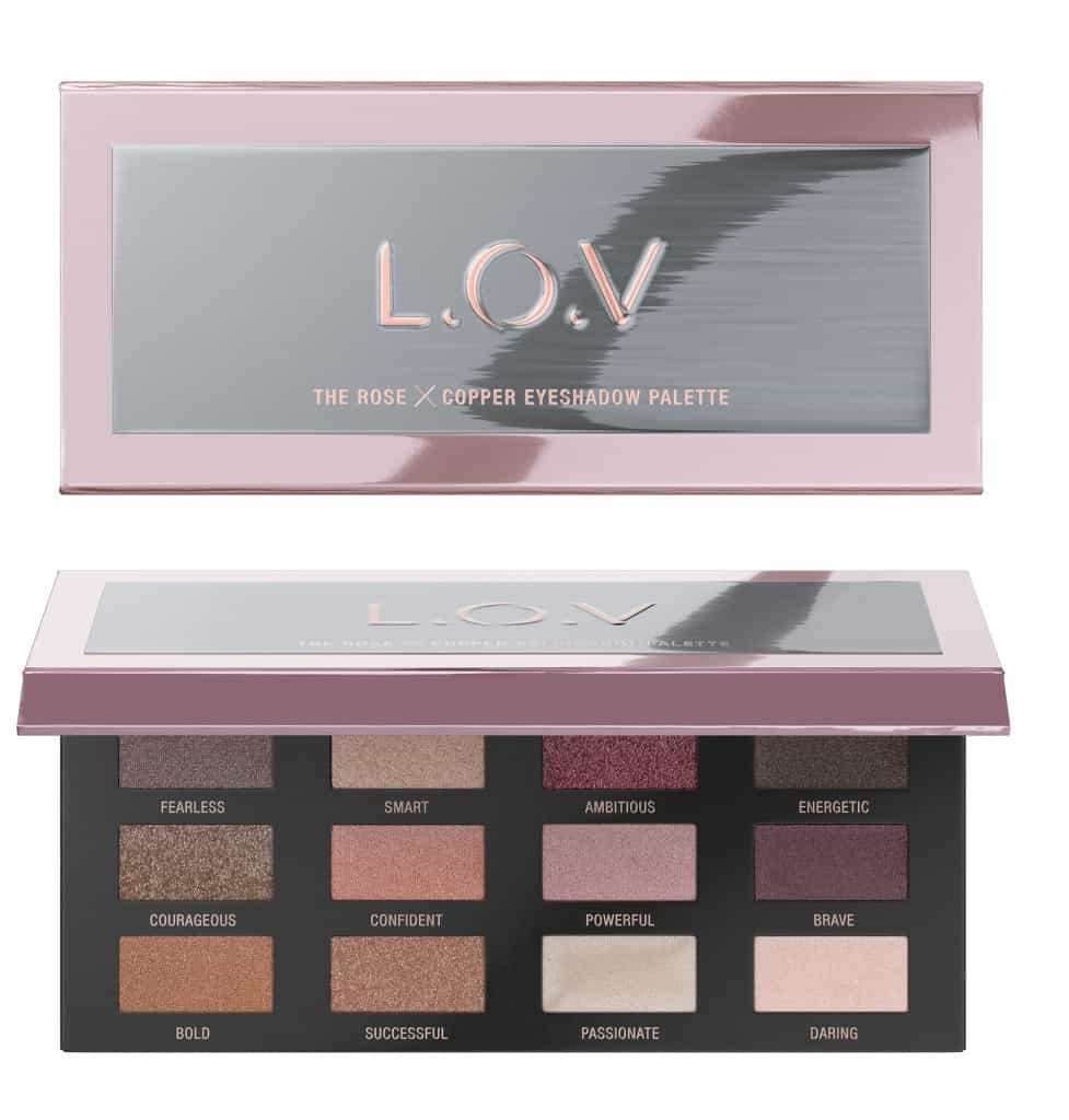 L.O.V. update najaar 2018-THE-ROSE-X-COPPER-eyeshadow-palette