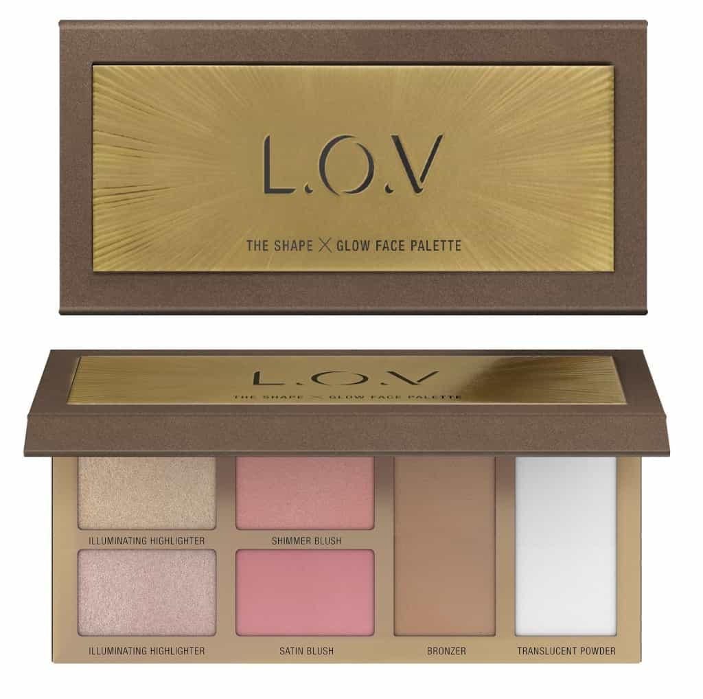 L.O.V. update najaar 2018-THE-SHAPE-X-GLOW-face-palette