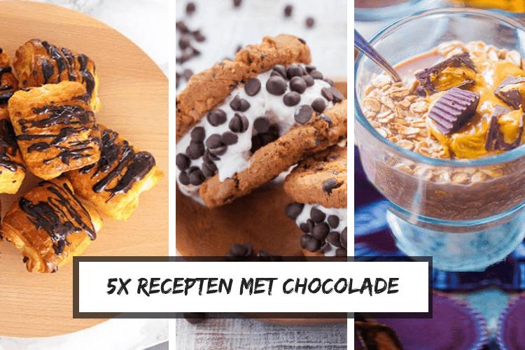 lekkere recepten met chocolade