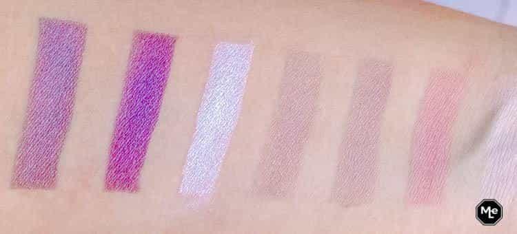 L.O.V. The Matte X Metallic Eyeshadow Palette