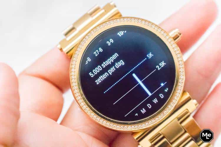 Michael Kors Acces Sofie smartwatch - google fit
