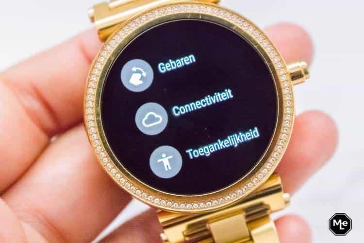 Michael Kors Acces Sofie smartwatch - gebaren