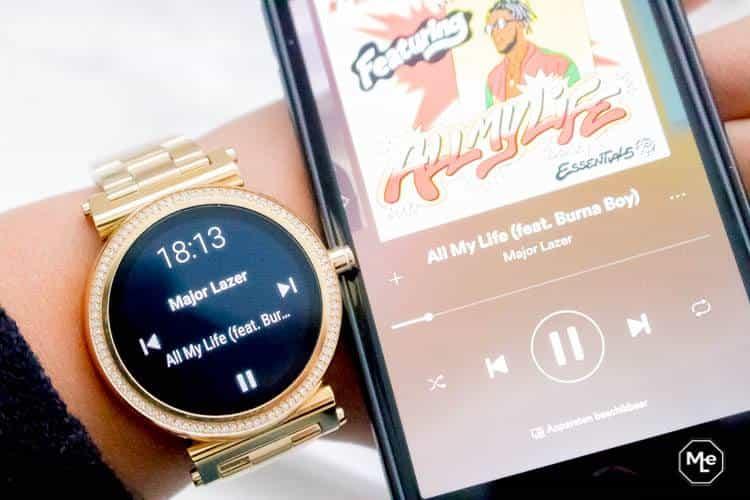 Michael Kors Acces Sofie smartwatch - muziek afspelen