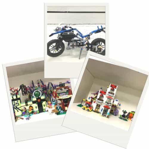 Yoast blog event -Lego bouwwerken waaronder een motor