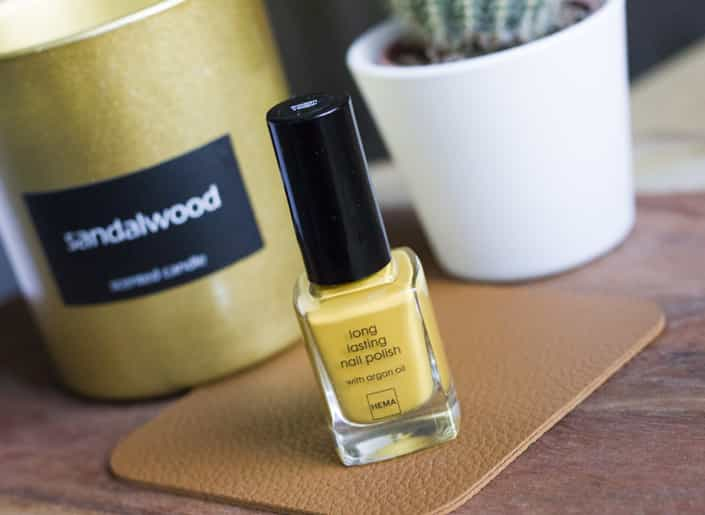 Hema Longlasting Nailpolish Golden Yellow
