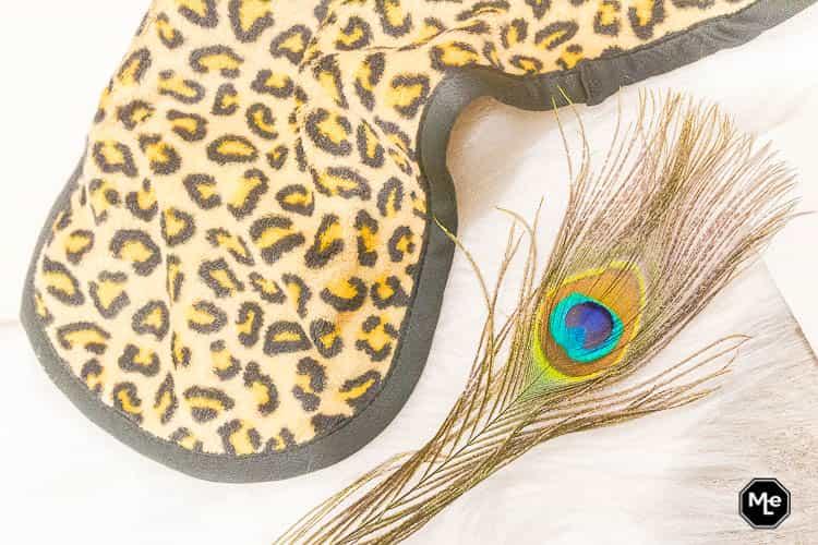 Makeup Eraser Cheetah close-up