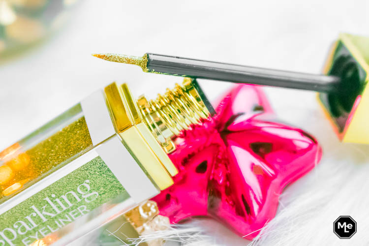 Etos Limited Edition Christmas Eyeliner Goud - applicator close-up