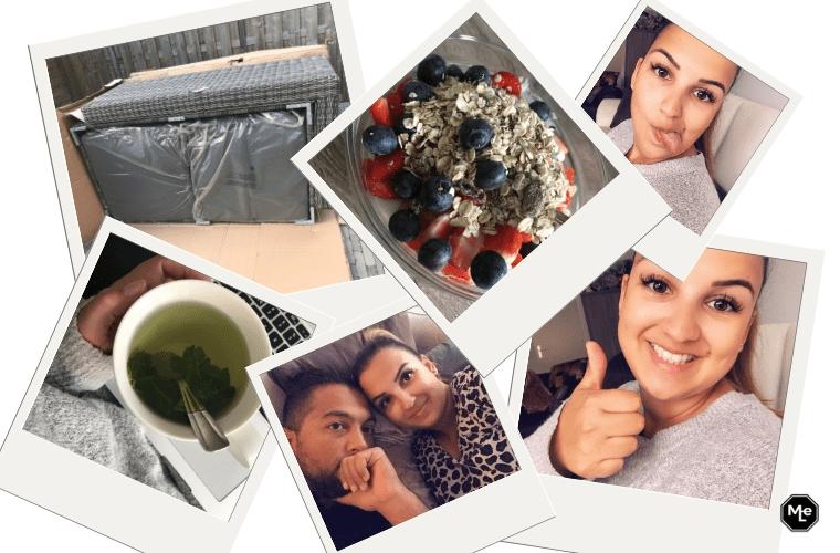 loungeset, ontbijt en selfies