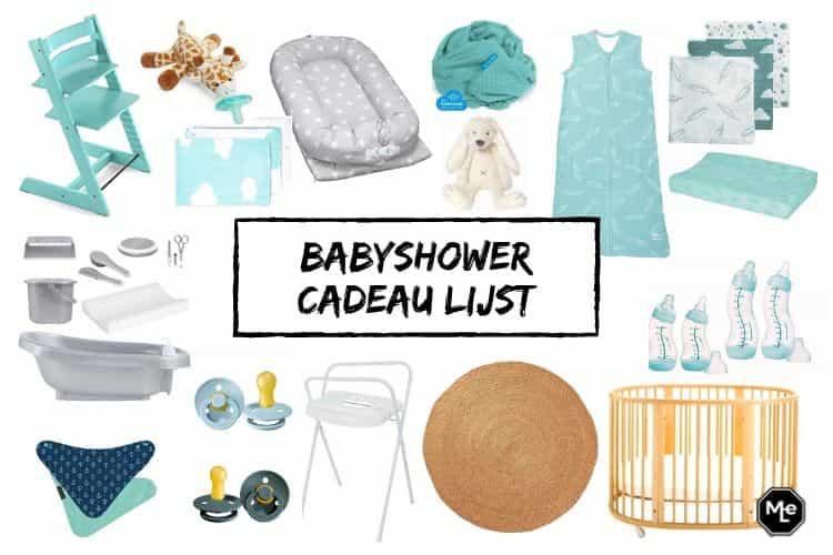 Babyshower Cadeau Lijst Wat Staat Er Op Melicious