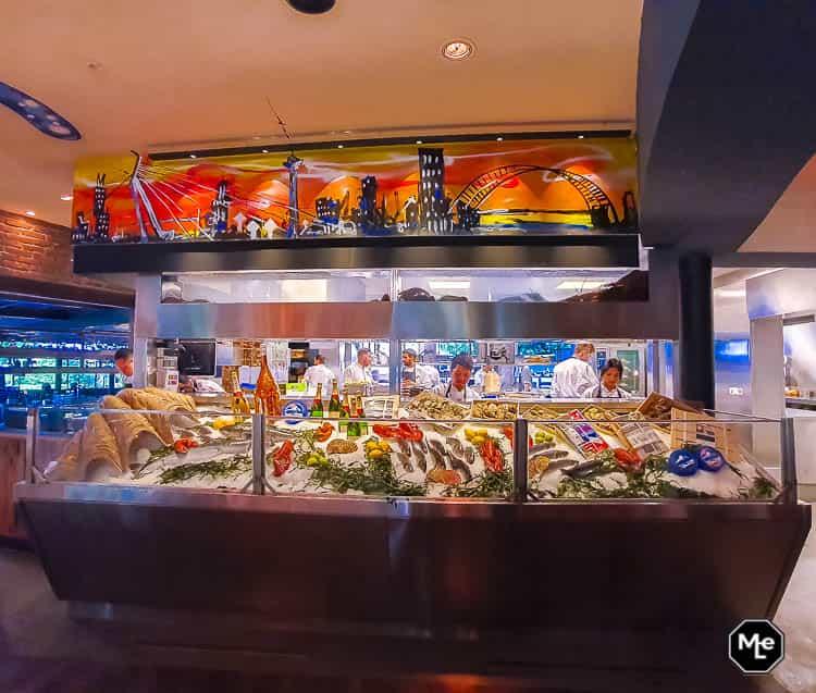 De keuken van The Harbour Club Rotterdam