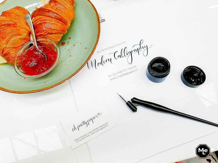 kalligrafie workshop – Oh Pretty Paper