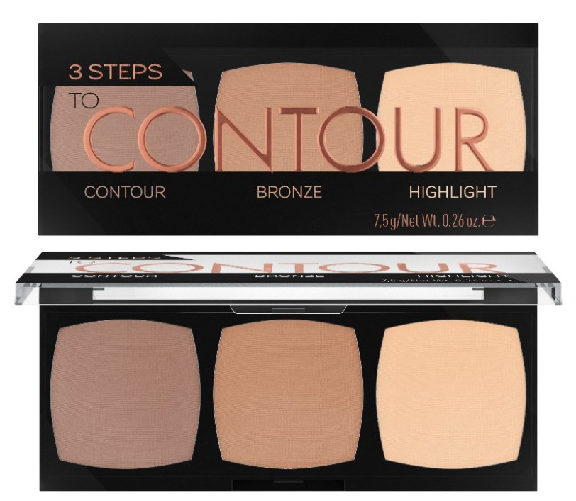 Catrice - 3 Steps To Contour Palette - 010 Allrounder.