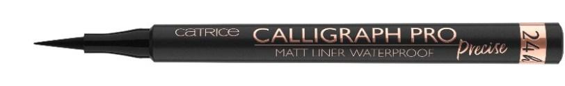 Catrice Calligraph Pro Precise 24H Matt Liner - 010 Intense Black Waterproof