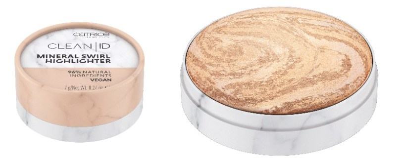 Catrice Clean ID - Mineral Swirl Highlighter - 020 Gold