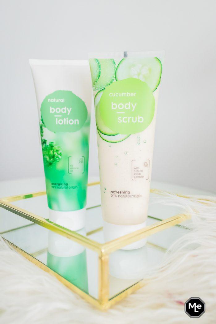 Natural Body Scrub - Komkommer verpakking