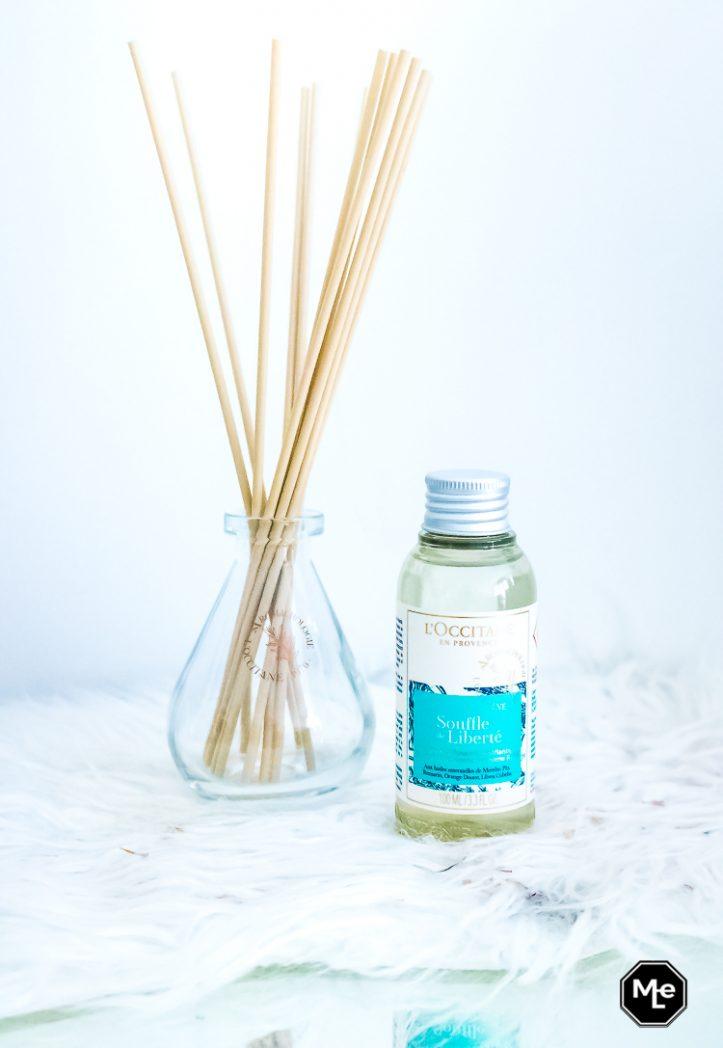 L' occitane parfumverspreider uit Home Collectie in de geur Souffle de Liberté