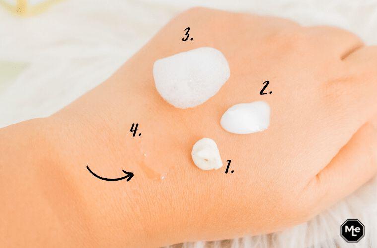 HEMA Shower gel Granaatappel swatch