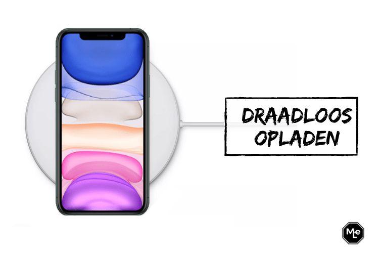 draadloos iphone 11 opladen