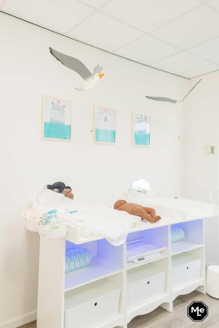 commode bij aqua baby spa utrecht