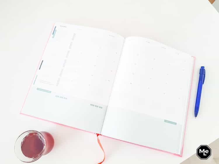 Maandplanning in de Purpuz Planner