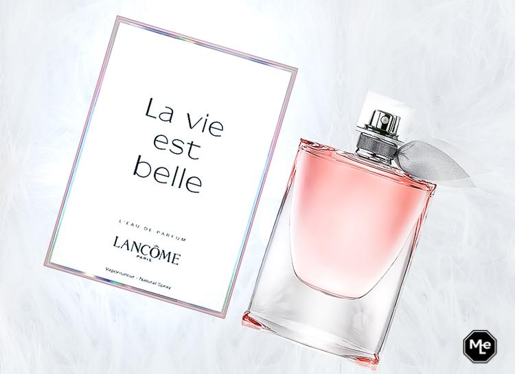 la vie est belle en rose eau de parfum met verpakking