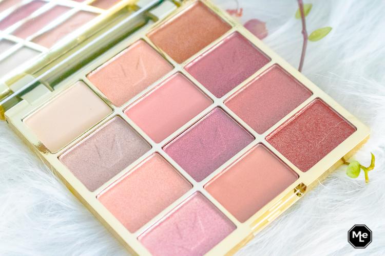 Essence Pink Glitter Show oogschaduw palette close-up